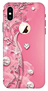 AJ Designer Printed Slim Light Weight Back Cover Case for Apple iPhone Xs Max - Multicolor