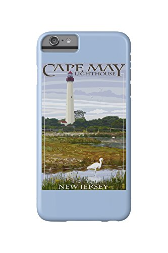 New Jersey Shore- Cape May Lighthouse (iPhone 6 Plus Cell Phone Case, Slim Barely There) (Cape Lighthouse May)