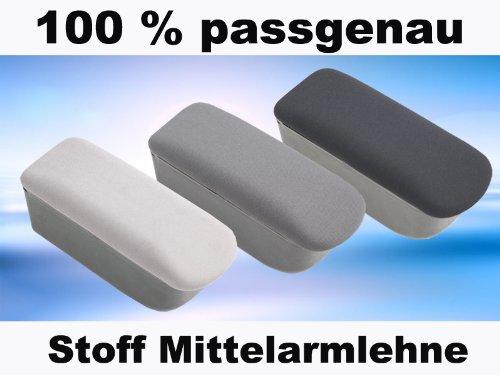 Mittelarmlehne Stoff Opel Mokka ab 2012 Armlehne Stoff dunkelgrau