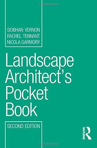 Landscape Architect's Pocket Book (Routledge Pocket Books)
