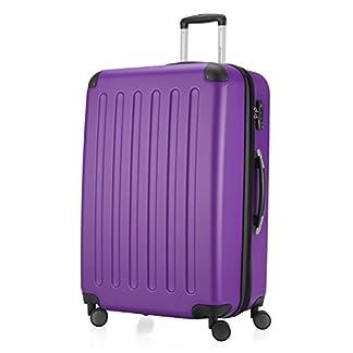 Hauptstadtkoffer-Spree-Hartschalen-Koffer-Koffer-Trolley-Rollkoffer-Reisekoffer-Erweiterbar-4-Rollen-TSA-75-cm-119-Liter-Lila