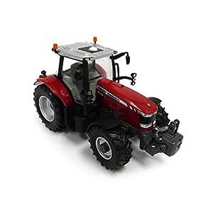 TOMY 43107 de Gran Bretaña - Massey Ferguson 7618 Tractor (Modelo 1:32)