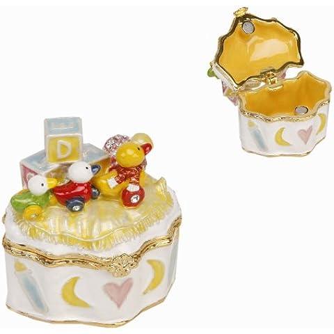 Giocattoli per bambini e ciuccio Treasured Trinkets Keepsake Box 15099nuovo battesimo