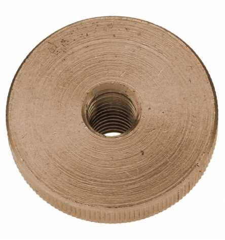 Reidl Rändelmuttern hohe Form M 8 DIN 466 Messing blank 1 Stück