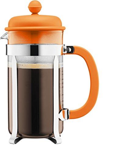 Bodum 1918-948b-y17 Kaffeebereiter (8 Tassen, 10,6 X 17,3 X 24,5 Cm) Orange