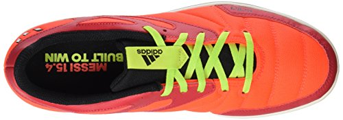 adidas - Messi 15.4 Street, Scarpe da ginnastica Uomo Rosso / verde / nero