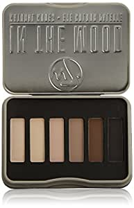 W7 Natural Nudes Eye Colour Palette 7 g, In The Mood - 6-Piece
