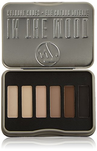 w7 In the Mood natural nudes eye shadow palette - Make up palette mit 6 pigmentierten leuchtenden lidschatten - Die Augen Dunkle Schokolade