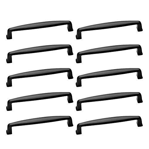 Schwarze Küche Türgriffe (10er Schwarz Griffe 160mm Lochdistanz Küchengriff Kleiderschrank Küche Möbel Griffe Türgriffe Türgriff Schrankgriffe Stangengriff)