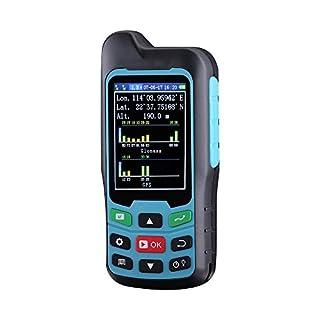 BEVA Handheld GPS GLONASS BEIDOU Length and Land Area Measure Calculation Meter,GPS Test Devices,GPS Area Measurement,Figure Track Multifunctional Measuring Instrument (Include Battery)