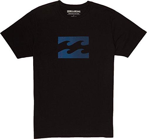 G.S.M. Europe - Billabong Herren Team Wave Tee Ss T-Shirt Black