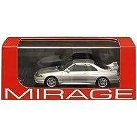 MIRAGE 1/43 Nissan Skyline GT-R V Spec R33 Spark Silver (japan import)