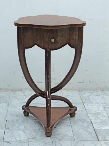 Table baroque antique table d'appoint de style Louis XV MoTa0257A