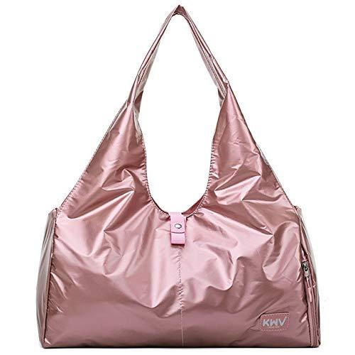 Yoga-Matten-Taschen für Fitness-Sack De Sport, trocken nass Sporttasche, Schultertraining, Gymtas, Bolsa Deporte, Handtaschen Bolsa XA616WA, Glitzer-Rosa