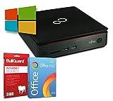 Fujitsu Esprimo Q520 Mini-PC | Intel Core i3-4350T,  3,1GHz | 8GB | 256GB SSD | Windows 10 Pro | BullGuard | SoftMaker Office (Generalüberholt)