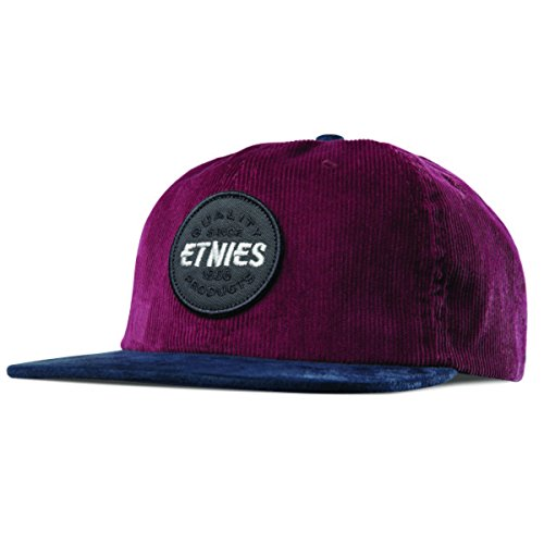 Etnies Patched Snapback Burgundy One Size