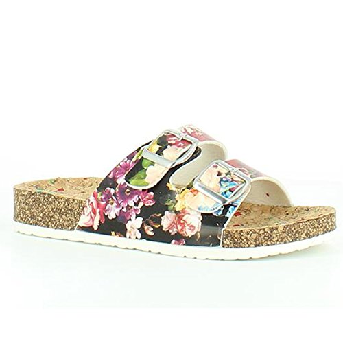Heavenly Feet Heavenly Feet Lilley Black Sandals, Sandali donna Black Floral