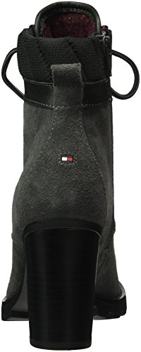 Tommy Hilfiger I1285sabella 14c, Bottes Classiques femme Gris - Grau (MAGNET 916)