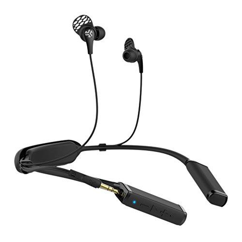 JLab Audio Gravity Bluetooth-Nackenband, Bluetooth 4.1, Titan, 10 mm Treiber, 10 Stunden Akkulaufzeit, 3,5 mm Klinkenstecker, Schwarz Titan Ipod-fall