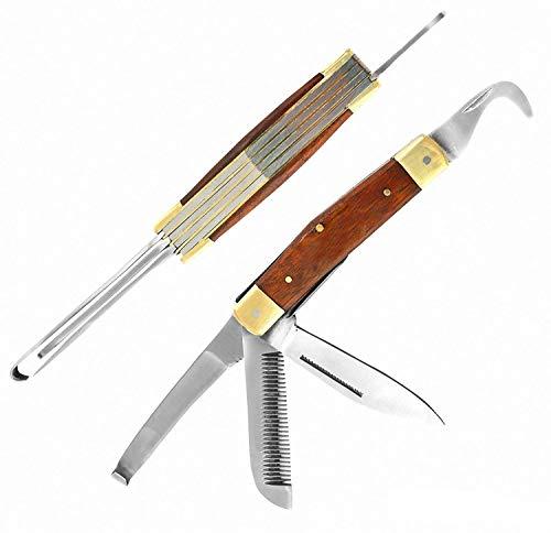 3680 Cuchillo Laguiole rústico hecho mano estilo