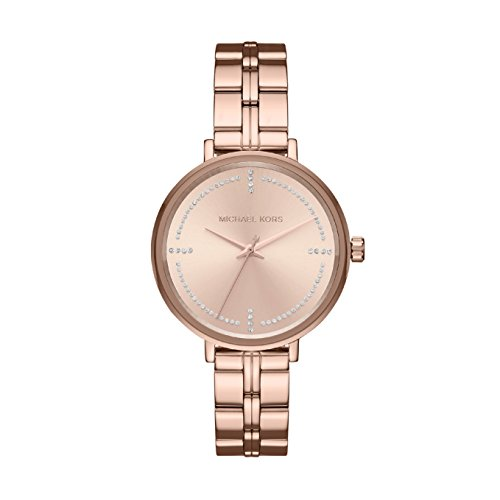 Michael Kors Women's Analogue Quartz Watch with Stainless Steel Strap MK3793