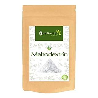 Foodtastic Maltodextrin 4kg / 4000g | wasserlösliches Kohlenhydrate-Pulver | perfekt für die Herstellung eigener Massgainer Shakes zur Gewichtszunahme | dezenter Geschmack | ideal für Hardgainer