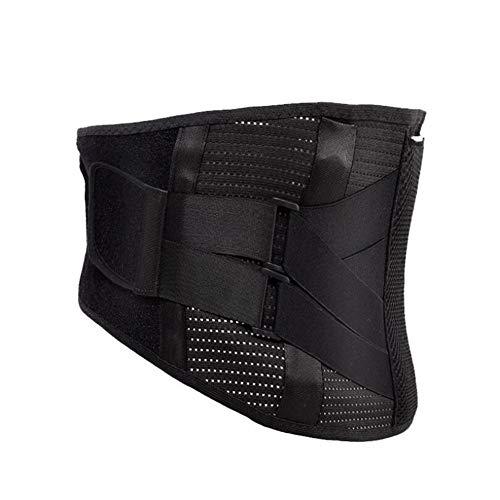 AXAXA AXA Rückenstützgürtel & Lendenwirbelgurt zur Schmerzlinderung und Verletzungsprävention, doppelte Anpassung, 9 Magnete für Heizung, einfach zu zerlegen und zu waschen