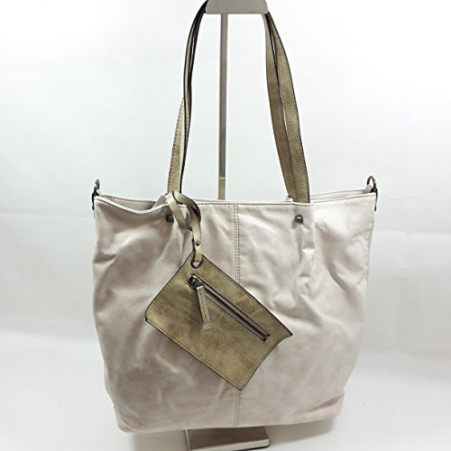 Maestro Surprise 16 Bag in Bag Shopper Borsa tote 41 cm ice sand