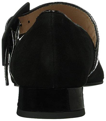 Paco Gil P3104, Mary Jane femme Noir - Noir