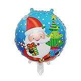 Drawihi 1 Stück Weihnachtsballons Folienballon Luftballons Weihnachten Party Dekoration Supplies (K) 45 x 63 cm