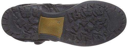 s.Oliver2542 - Stivali classici imbottiti a gamba corta donna Nero (Schwarz (Black/Graphite 097))