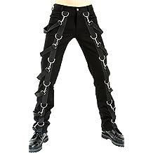 Aderlass Belt Pants Denim Black