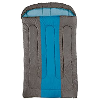 COLEMAN Sleeping Bag Hudson, Rectangular Sleeping Bag, Indoor & Outdoor, 2 Season, Warm Filling, for Adults 15