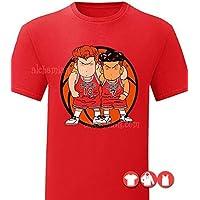 Shohoku, maglia rossa, maglietta t-shirt, felpa, canotta, Slam Dunk