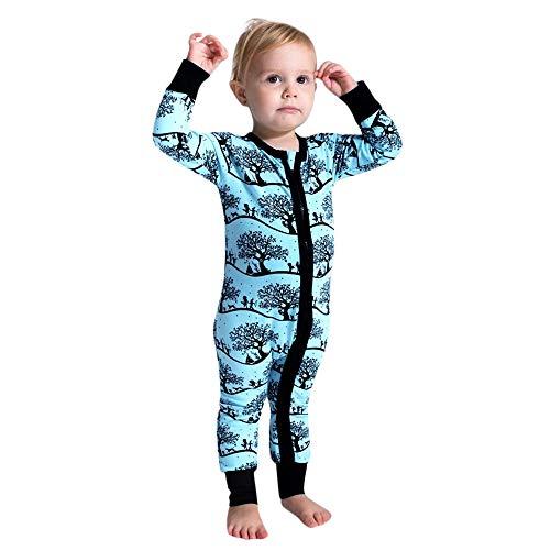 VENMO Baby Jungen Mädchen Cartoon Reißverschluss Strampler Overall Outfits Winterjacke Kinderjacken Winter Cape Cloak Outwear Mantel Schneeanzüge Fleece mit Kapuze Strampler Jumpsuit -