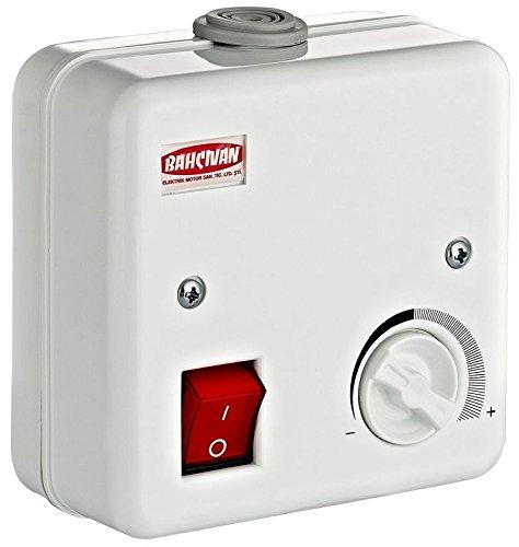 Drehzahlregler Regler Drehzahlsteuerung für Lüfter Ventilator Gebläse 1 (2 Ampere) (230v-gebläse-motor)
