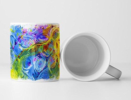 Herz Tasse als Geschenk, Design Sinus Art
