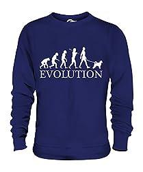 Candymix - Portuguese Water Dog Evolution Of Man - Unisex Sweatshirt Mens Ladies Sweater Jumper Top