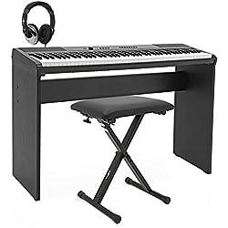 Piano de Escenario SDP-2 de Gear4music + Pack de Accesorios