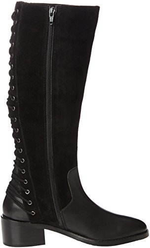 Joe Browns - Stylish Lace Back Riding, Scarpe col tacco Donna Black (A-Black)