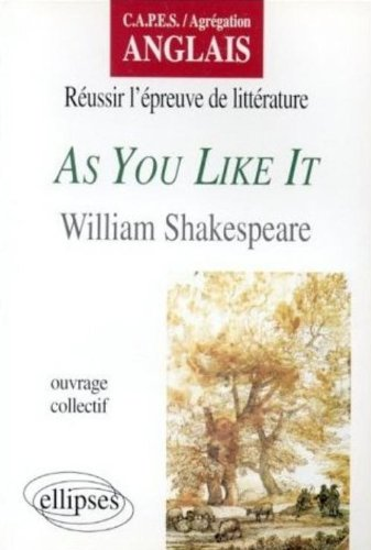 As you like it, de William Shakespeare