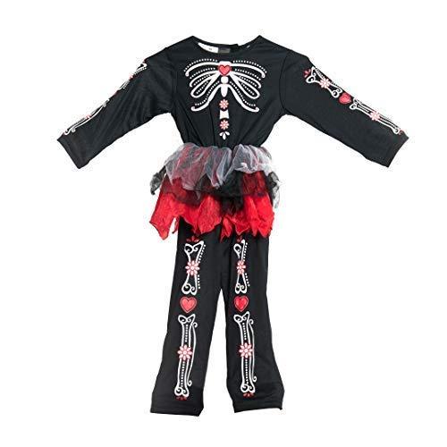 Bodysocks® Tag der Toten Kostüm für Mädchen (1-2 Jahre)