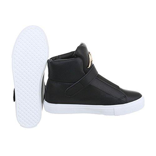 Sneakers casual nere per donna 9QgQX