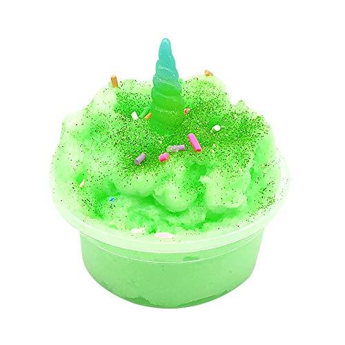 TIMEMEAN Schlamm Mischen Wolke Schleim Kitt Duftender Stress Kinder Ton Spielzeug Für Weihnachts Geschenk