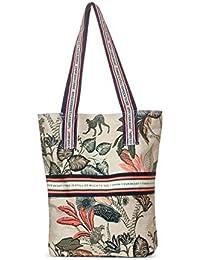 Cecil Damen Tasche mit Dschungelprint