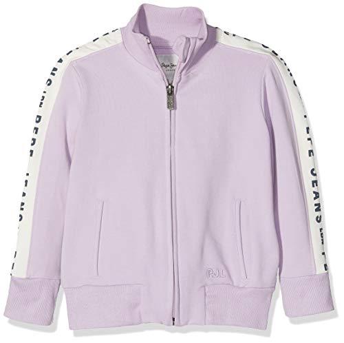 8 Kinder-jeans-jeans (Pepe Jeans Mädchen Charlie Jr Sweatshirt, Violett (Washed Lilac 424), 8 Jahre)
