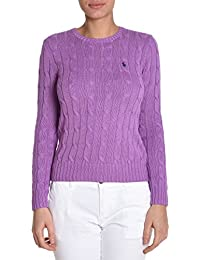 Ralph Lauren Femme V39IE169CE149XW7S1 Violet Coton Maille