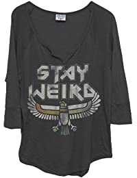 T-shirt Stay Weird with Fall - Junk Food