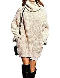 7569d14c3c Amazon.it: maglione con collo alto - Donna: Abbigliamento
