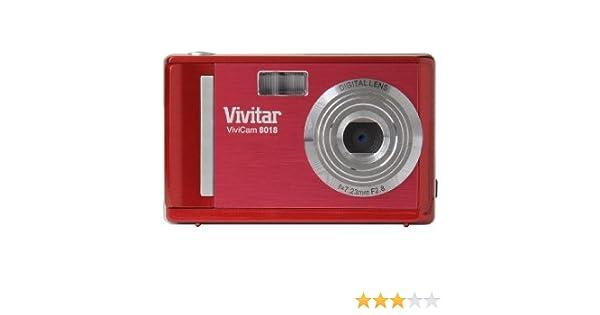 vivitar vivicam 8018 digital camera red amazon co uk camera photo rh amazon co uk Vivitar Instruction Manuals Vivitar Camera Owners Manual